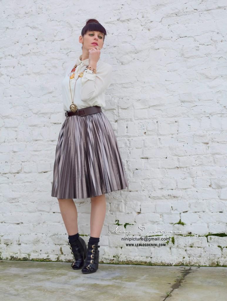 jupe plissée 3suisses