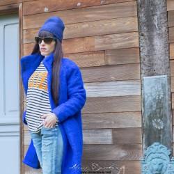 SAMSOE BLUE COAT