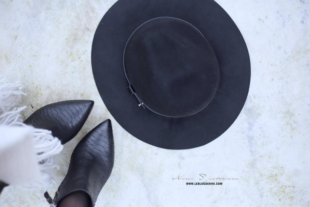 boots bruno premi + chapeau h&M