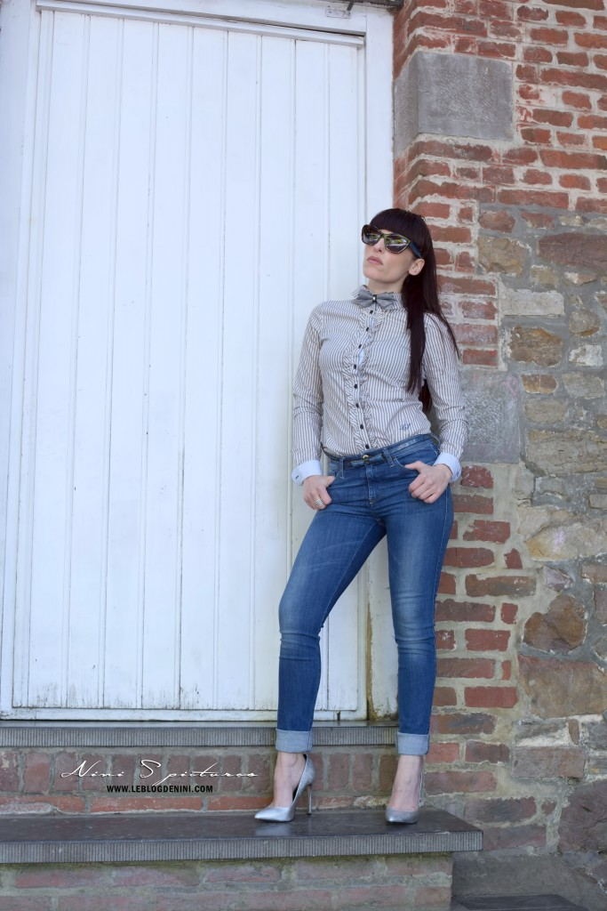 chic en jeans
