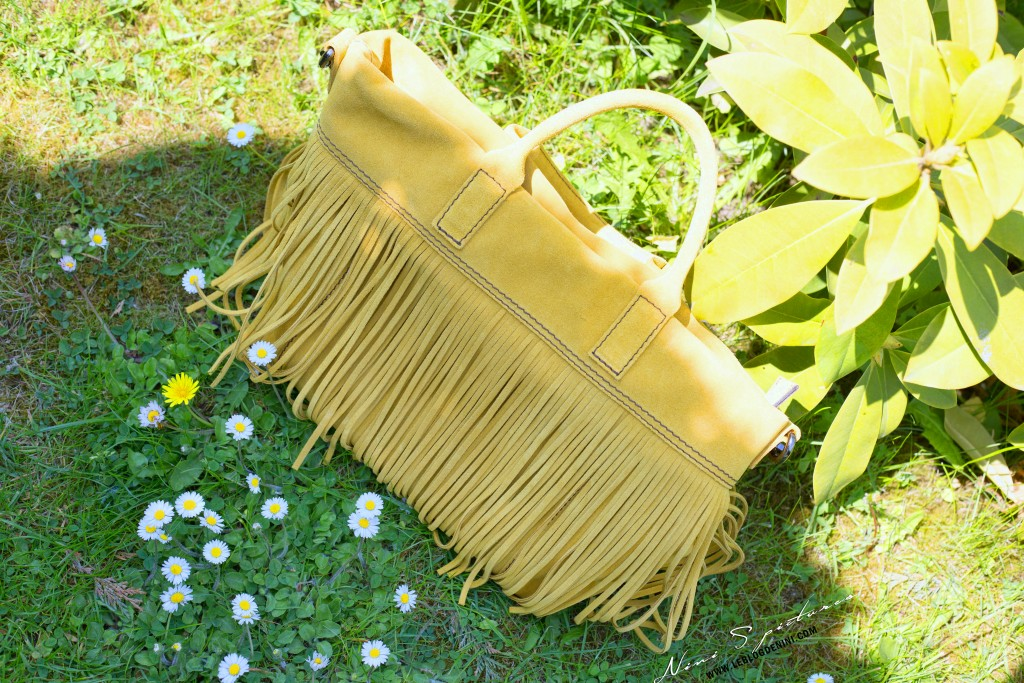 yellow gianni chiarini bag