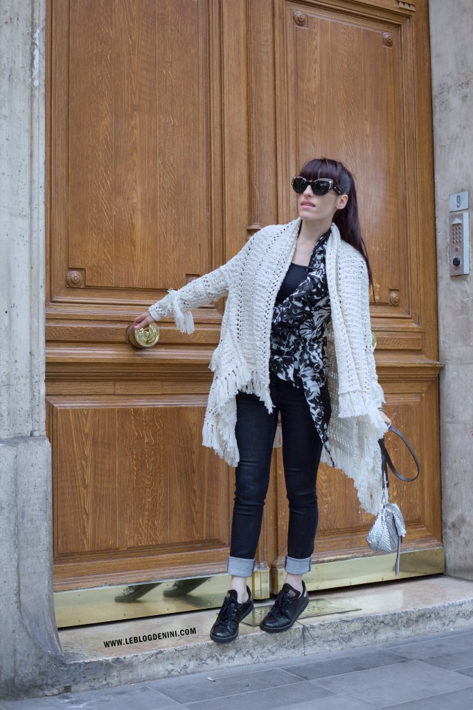 MAJE PARIS maranello cardigan