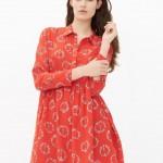 robe sandro paris ring rouge