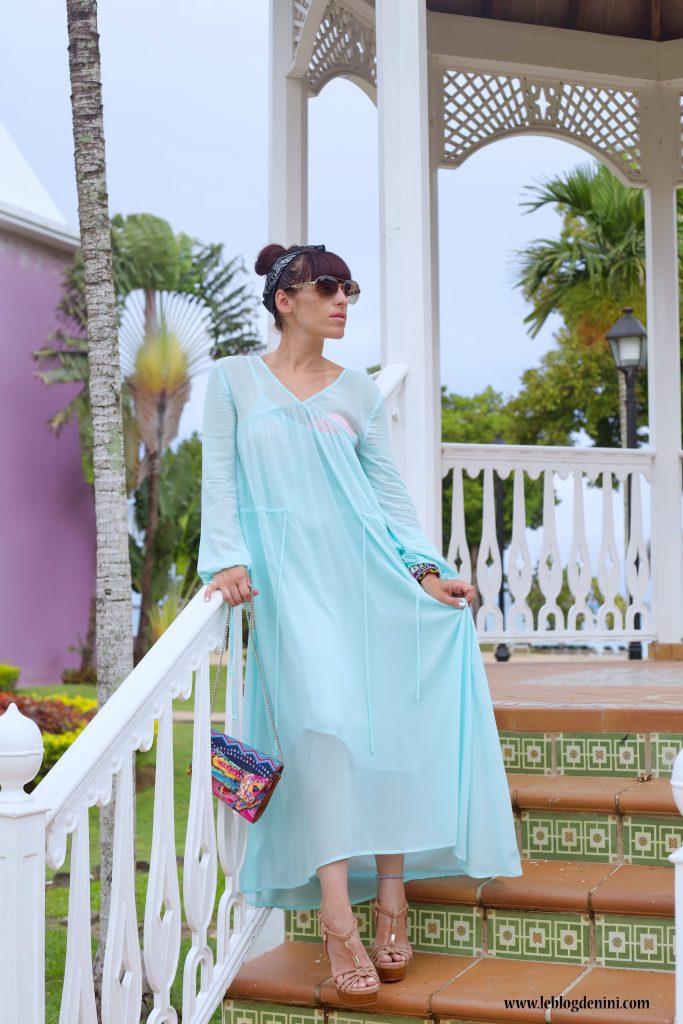 RUTABAGA robe longue maje paris