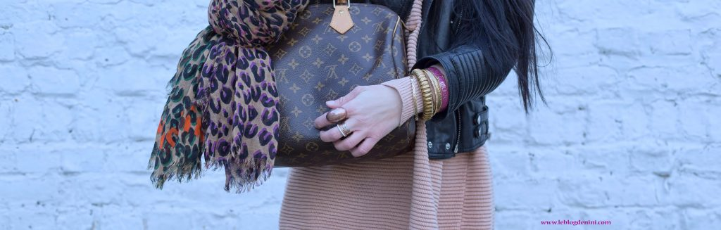louis vuitton sac speedy et foulard
