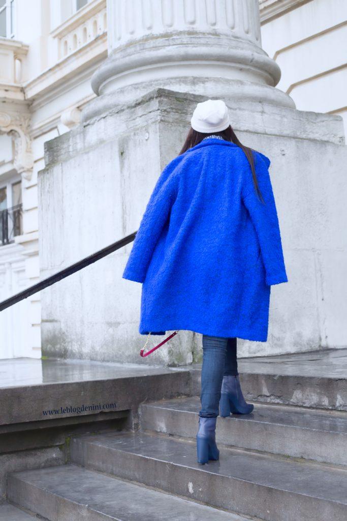 manteau bleu samsoe