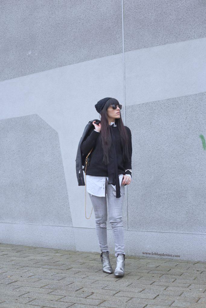 pullover-noir-shein
