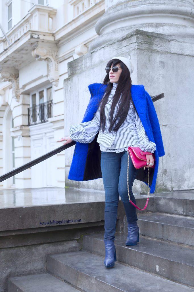 streetstyle belgique bleu