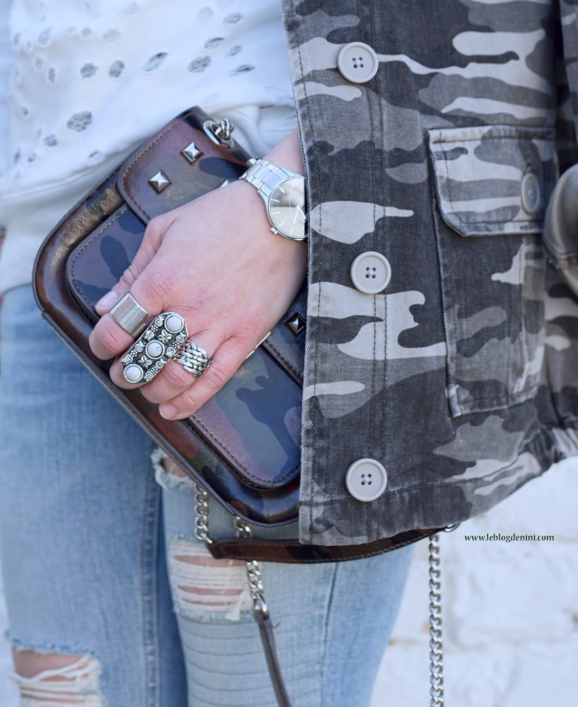 RING ASOS AND CAMO PRIMARK