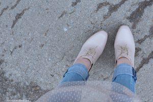 boots vic matie rose poudrée