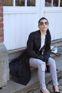 TRENCH ET LACE