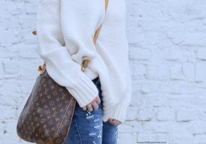 sac louis vuitton et pull zara