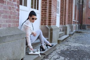 shein lace top
