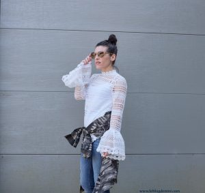 streetstyle with lace and camo