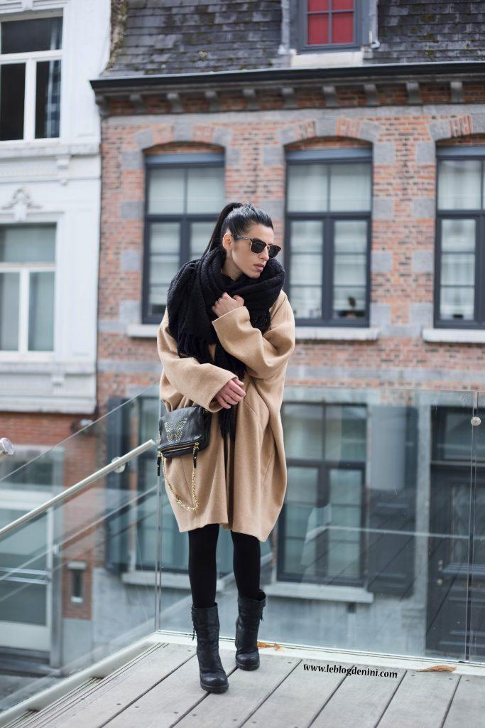 manteau oversize zara