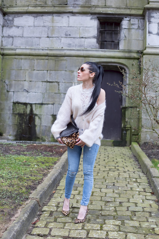 escarpins léopard et jeans zara – Le blog de nini