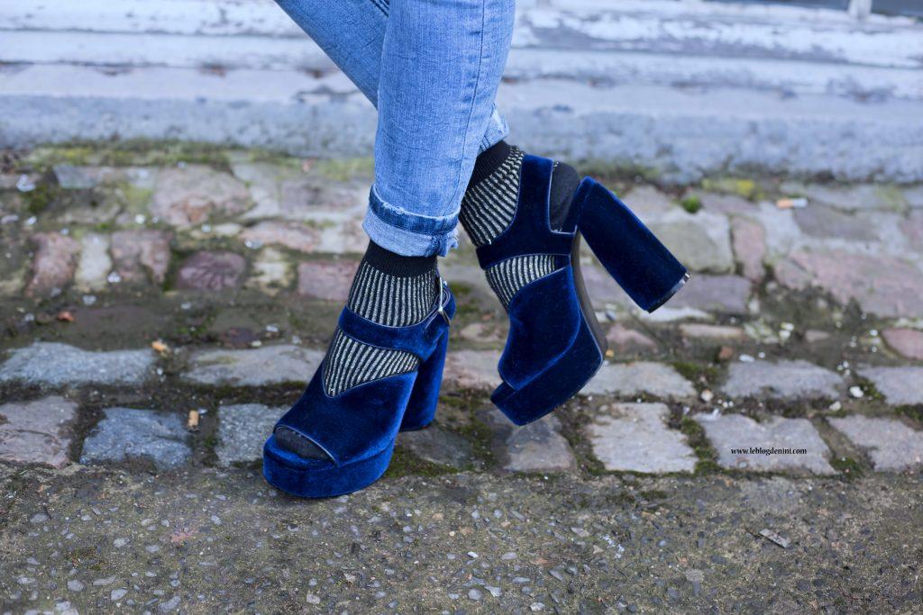 sandales velour zara woman