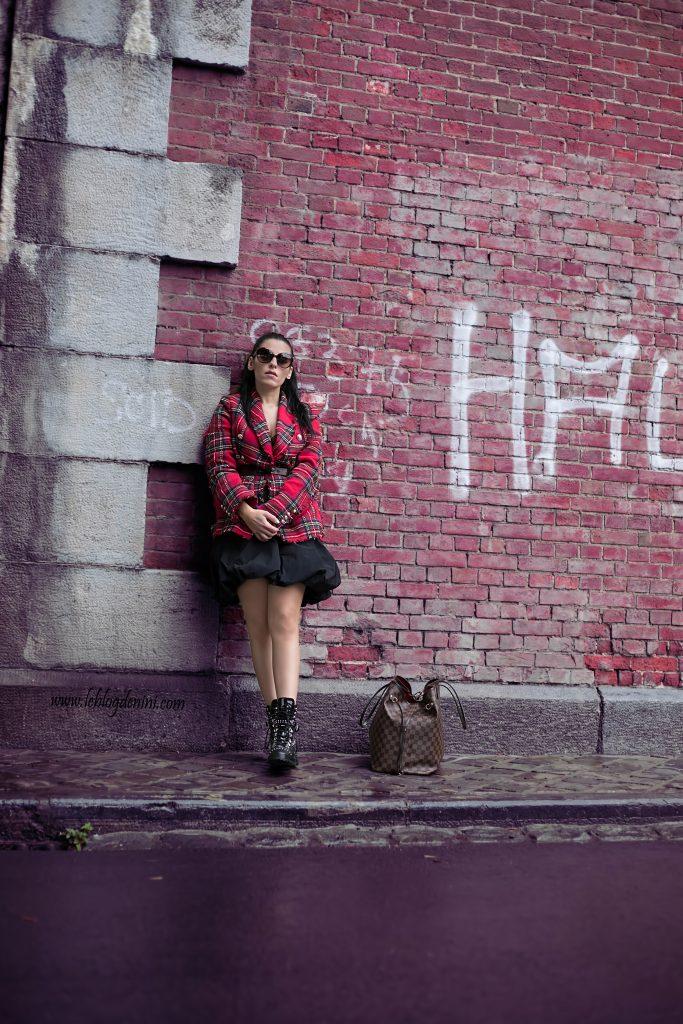 tweed rouge shein 2