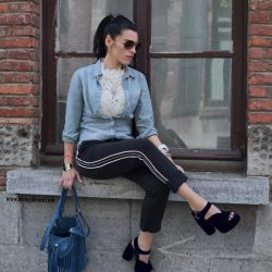 casual style with a training